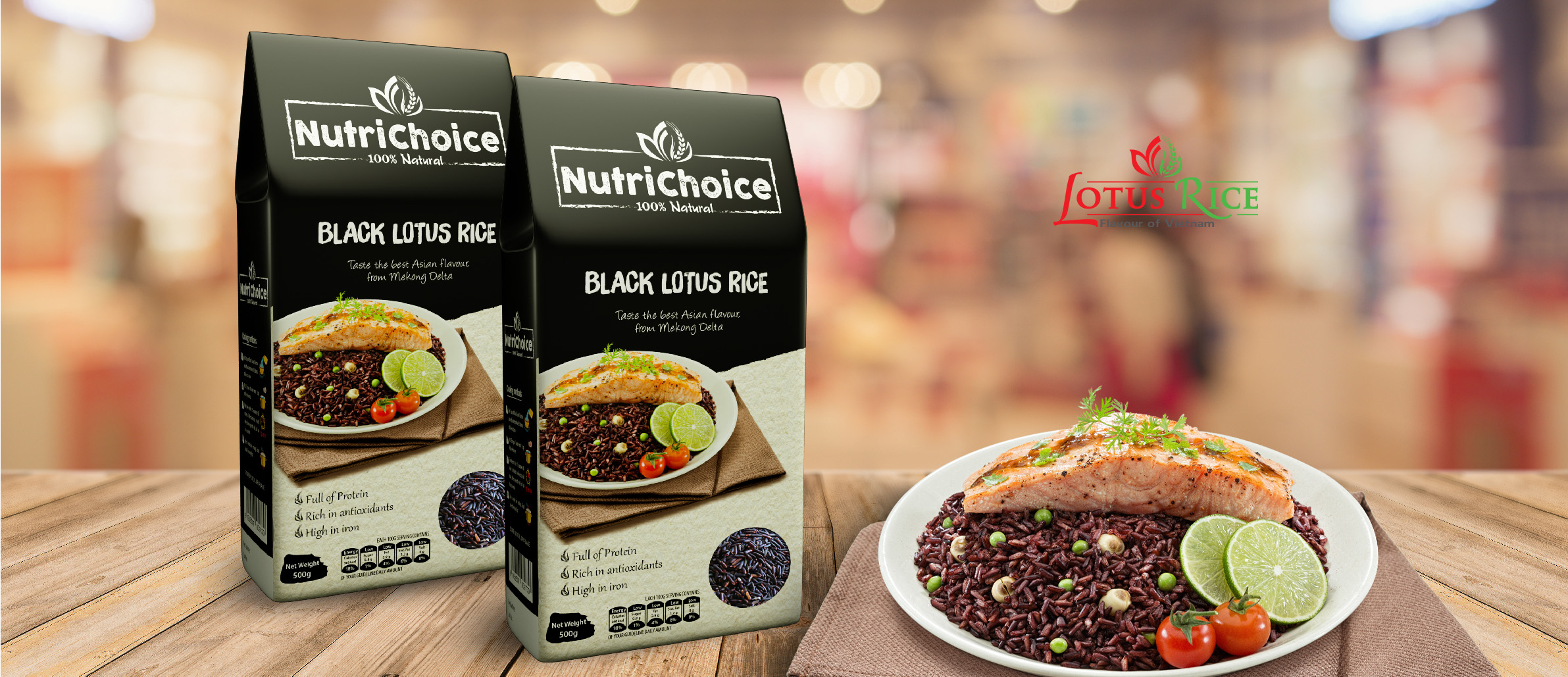 BLACK LOTUS RICE RECIPE